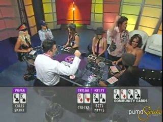Блондинки puma swede wins а jackpot вътре покер