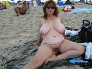plajă, grannies, matures