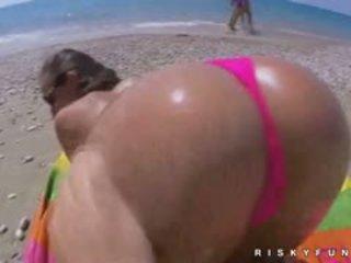 Amira adara insane δημόσιο παραλία διασκέδαση