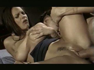брюнетка, оральний секс, груповий секс