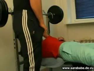 Gjerman palestër seks