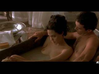 Angelina jolie 在 原 sin, 免費 所有 celebs 俱樂部 高清晰度 色情