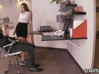 brunette, hardcore sex, kissing