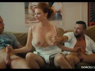 Hard DP with 2 strangers for my wife Tarra White - Porn Video 961