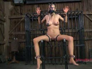 Torturing beauty met seks speeltjes