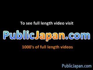 Azusa nagasawa हॉट जपानीस डॉल gets