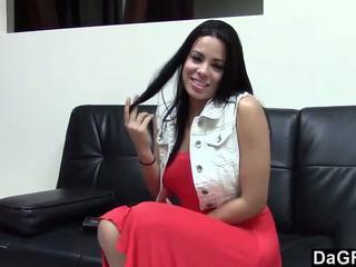 Nóng latina fucking cô ấy đúc agent