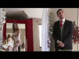 Sexy Bride Sucking A Big Cock