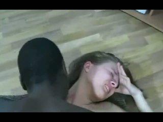 si rambut coklat, hitam dan ebony, cumshot
