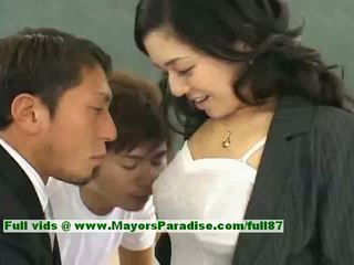 Sora aoi innocent seksual ýapon student is getting fucked