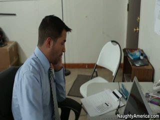 ufficio sesso, libero ragazza red porno