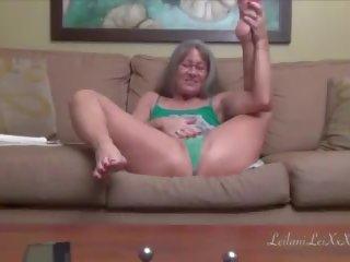 Leilani lei masturbates en squirts m6, porno 3b