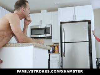 Familystrokes - Fucked Not My Step-dad While Mom in.