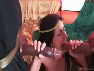 interracial, threesome, big cocks