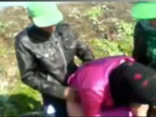 Hot Egyptian girl Fucked By Tow Man&#0...