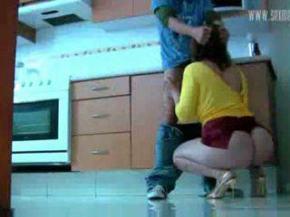 Fusk hustru ia en kåta slampa video-