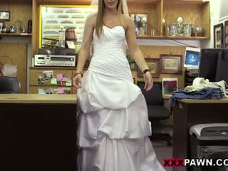 The Bride And Her Wedding Dress