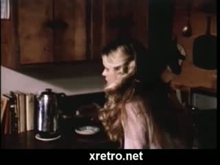 Vintage porn movie with 80s style sex