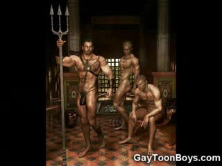 Gespierd homo boys 3d fantasy!