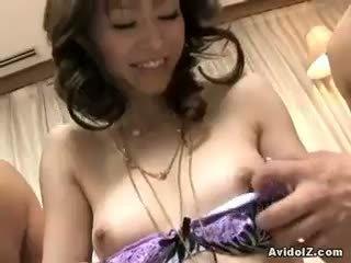 new brunette, blowjob all, online threesome fun