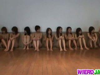 japanese, masturbation, group