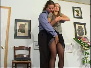 блондинки, анален, руски