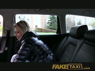FakeTaxi Randy blonde milf loves the cock
