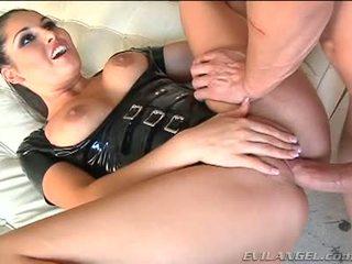 Emma cummings 在 胶乳 诉讼 gets 性交 右边 在 该 屁股