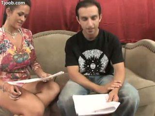 brunette porno, oral sex action, deepthroat