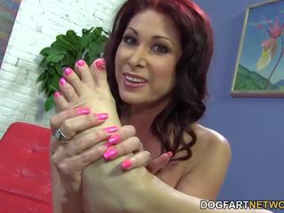 Tiffany mynx foot jimat with bbc, free porno 61