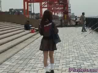 무료 jav 의 mikan 아름다운 동양의 전문 대학 소녀