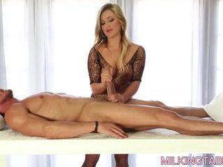 Cameron Dee Cock Milking