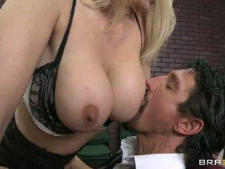 kiểm tra titty mẹ kiếp nóng nhất, thực giáo viên, xem cô gái tóc vàng nhất