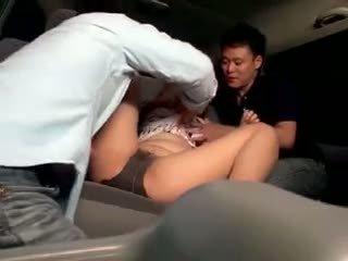 Innocent Schoolgirl Gangbanged In A Car
