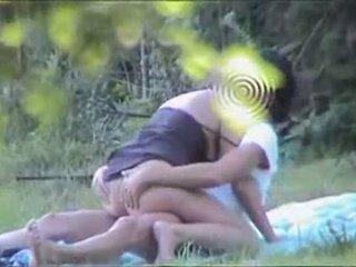 Ekte voyeur - par hng sex i offentlig park