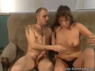 Nederlander brunette milf passion neuken, porno 9a