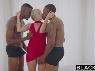 Blacked huisvrouw fucks two bbcs, gratis hd porno d6