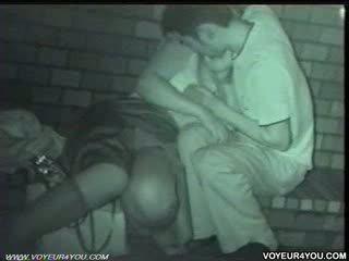Two couples neuken exposure uit doors