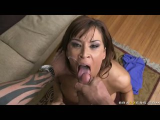 Nice Looking Honey Devon Michaels Cant Live Without The Warmth Of His Mans Cum On Her Mouth