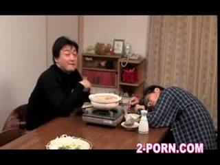huisvrouw, milf, aziatisch