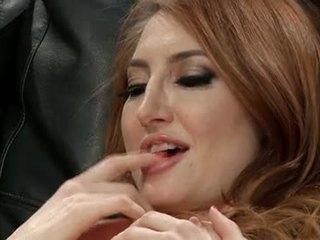 brunette, orale seks, kaukasisch