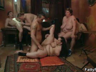 grupu sekss, bbw, tauki