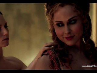 Anna hutchison un ayse tezel bez the stitch onto spartacus