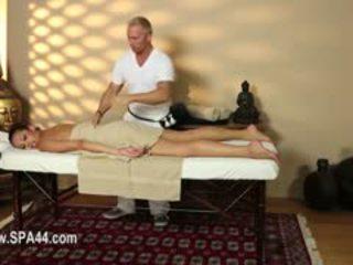 Delicate Busty Babes In Secret Massage Saloon