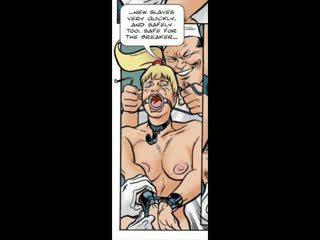 Blondīne pieviltas stāšanās bdsm sekss komikss