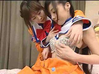 Jaapan lesbid teismeliseiga video