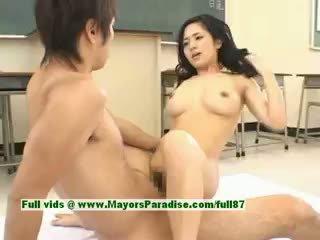 Sora aoi heiß mädchen sexy japanisch student gets ein schwer ficken