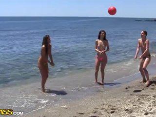 전문 대학 섹스 파티 아래의 그만큼 해 heat 의 그만큼 바닷가
