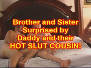 Brat in sister jebemti njihovo bejba sestrična