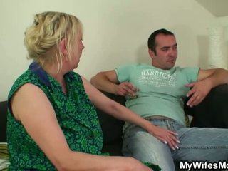 Phallus Desirous Mom Jumps Onto Her So...